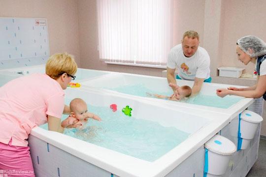 Бізнес ідея – басейн для немовлят