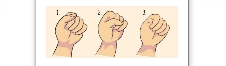 Простий тест: ваша звичка стискати кулак розповість все про ваш характер